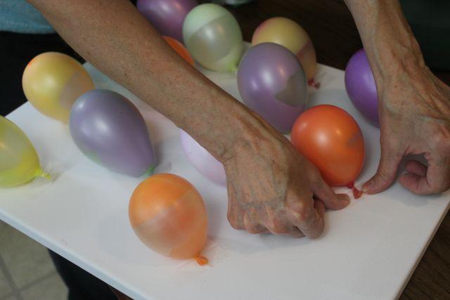Balloon Pop Painting