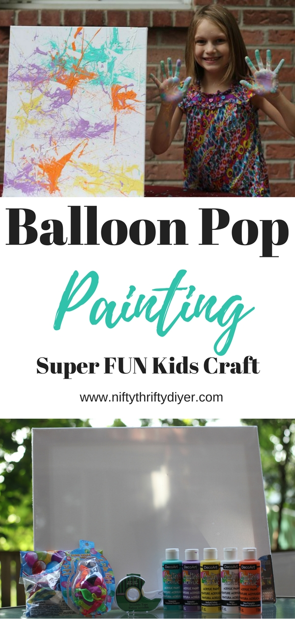 Balloon Pop Painting