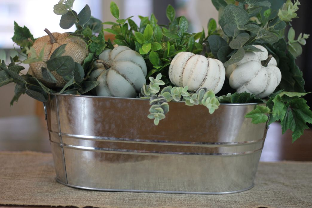 Chalk Paint Pumpkins
