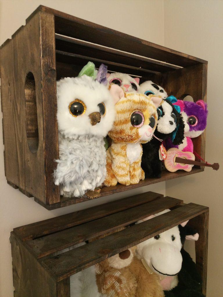 Diy quick & easy stuffie storage