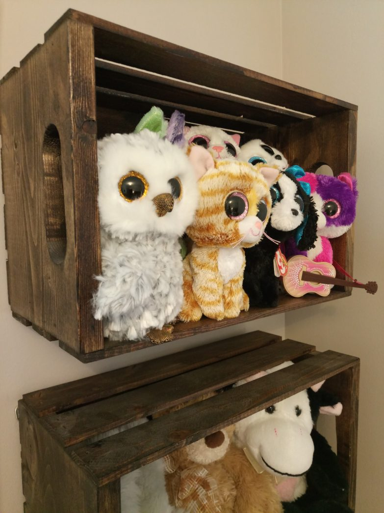 DIY Quick & Easy Stuffed Animal Storage~Nifty Thrifty DIYer