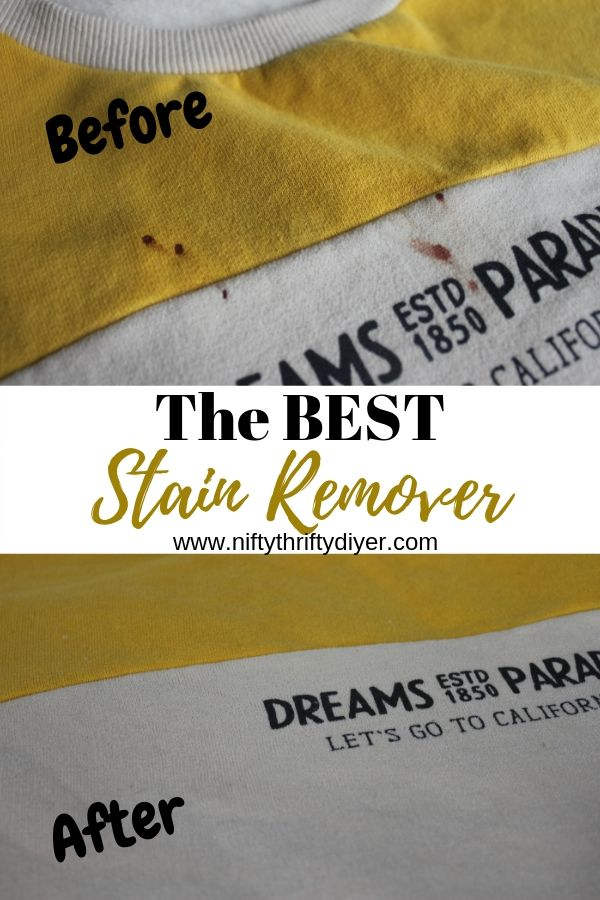 The Best Stain Remover