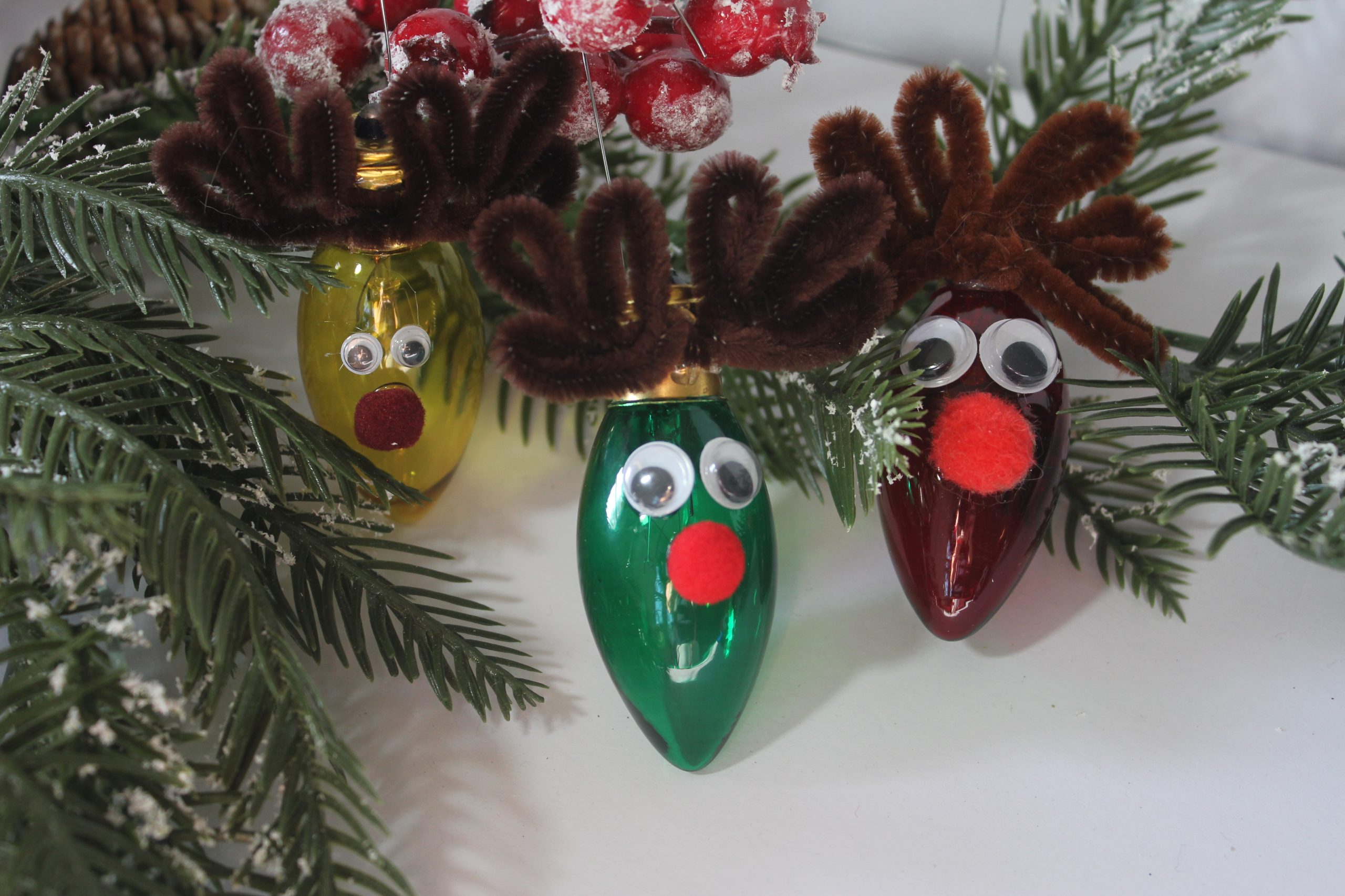 diy reindeer ornaments
