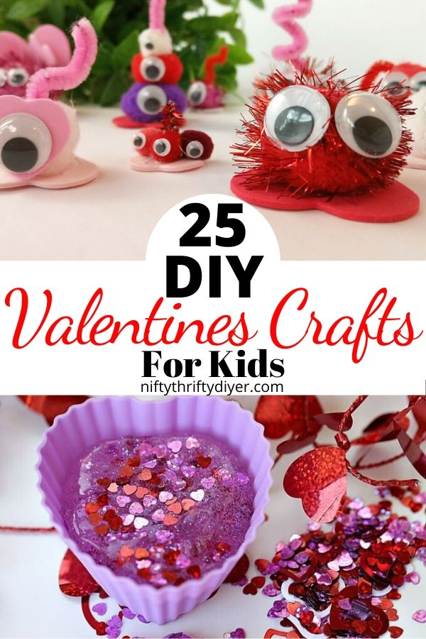25 DIY Valentines Crafts for Kids