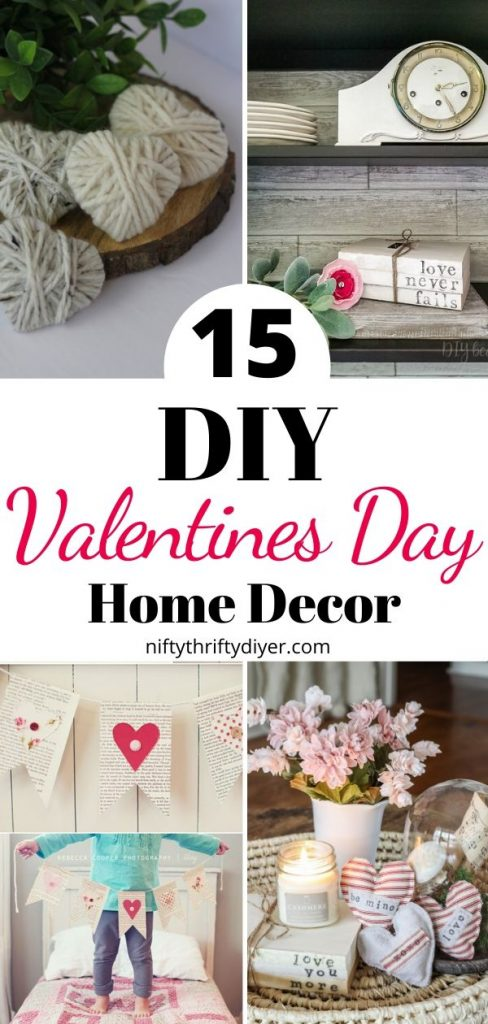 15 DIY Valentines Day Decor