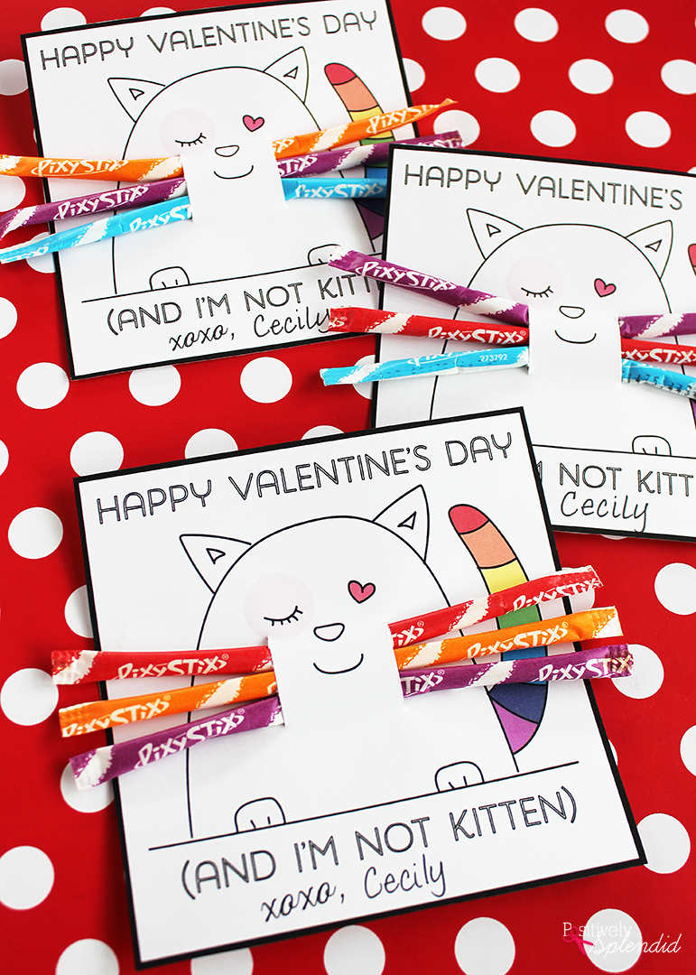 25 FREE Printable Valentines for Kids