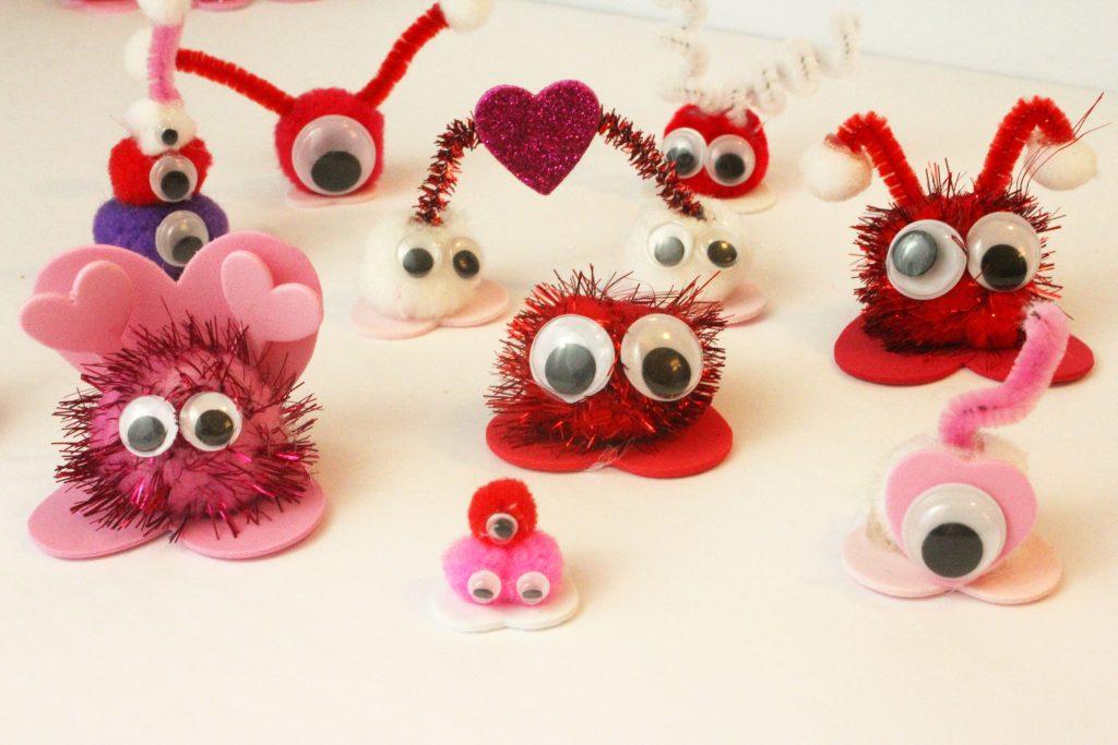 Valentine Crafts for Kids ~Love Bugs