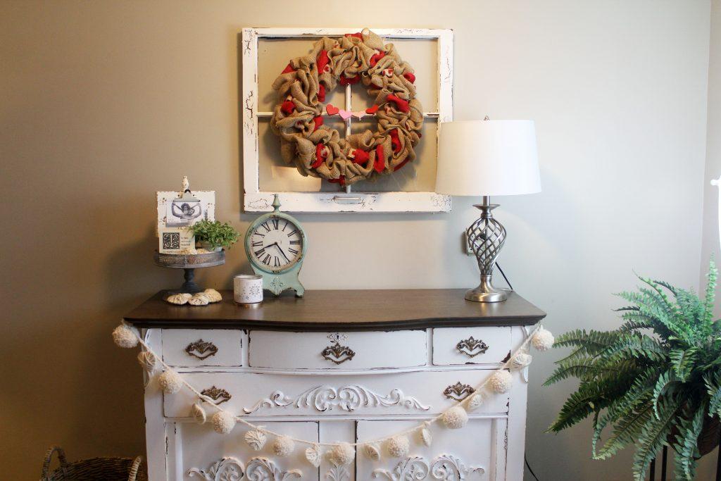 DIY Valentines Wreath