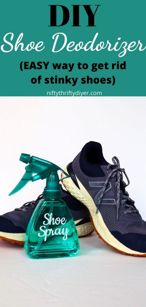 DIY Shoe Deodorizer